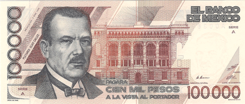 The Value of Old Mexican Banknotes | Rocky Point Times Newspaper