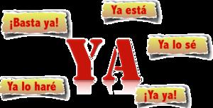 Ya in Spanish