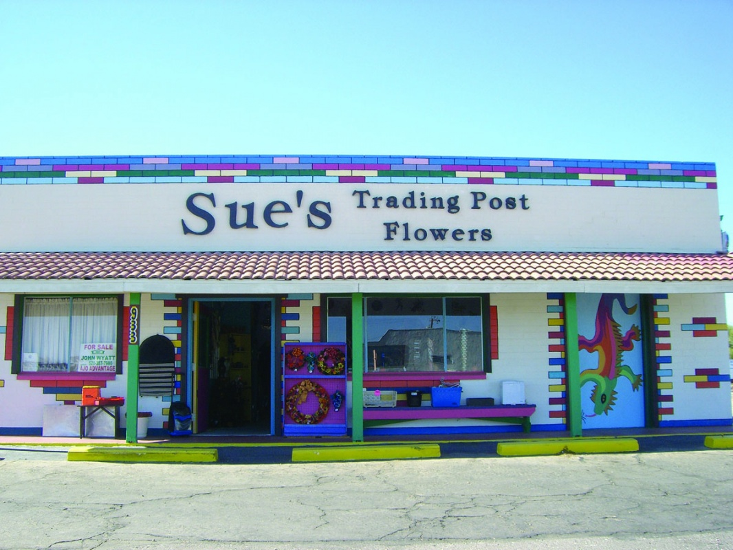 Sue's Trading Post and Flower Shop, serving Ajo for 27 years