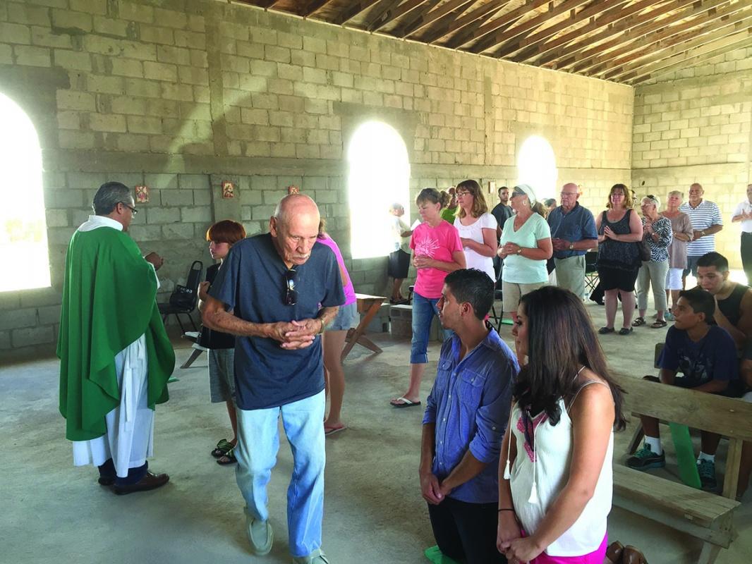 San Jose' marks one year of Sunday Mass in Cholla