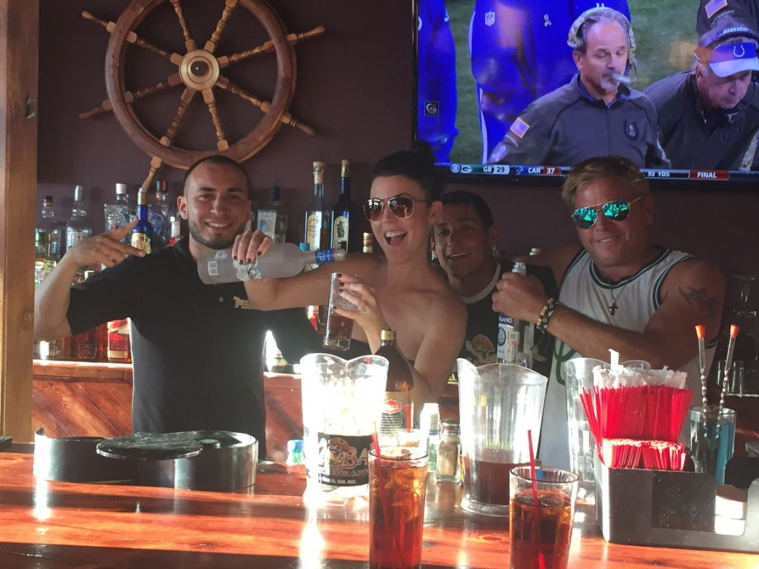 What's the NEW and HOT…and TOTALLY Fun…Place to be SEEN In Rocky Point? TEKILA BAR!!!