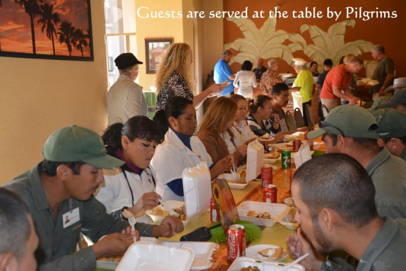 Sonoran Resorts Owners Prepare and Serve Homemade Thanksgiving to Hundreds at the Spa and Sun!