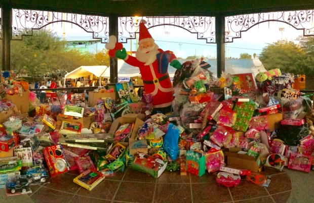 Community Steps Up for DIF Toy Drive