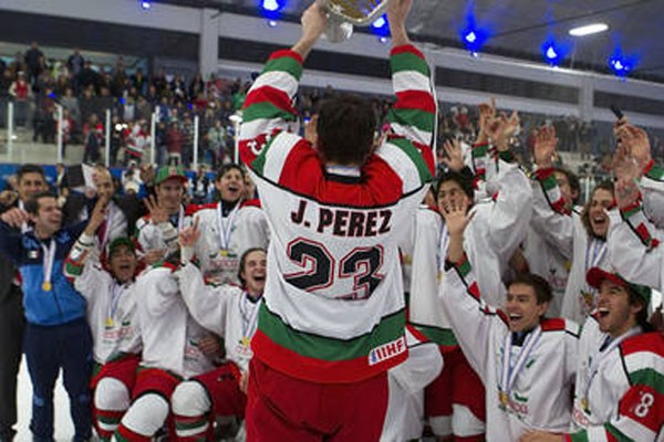 Mexico Wins Gold in Hockey Championships