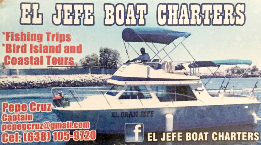 You Are The Boss at… El Jefe Boat Charters!