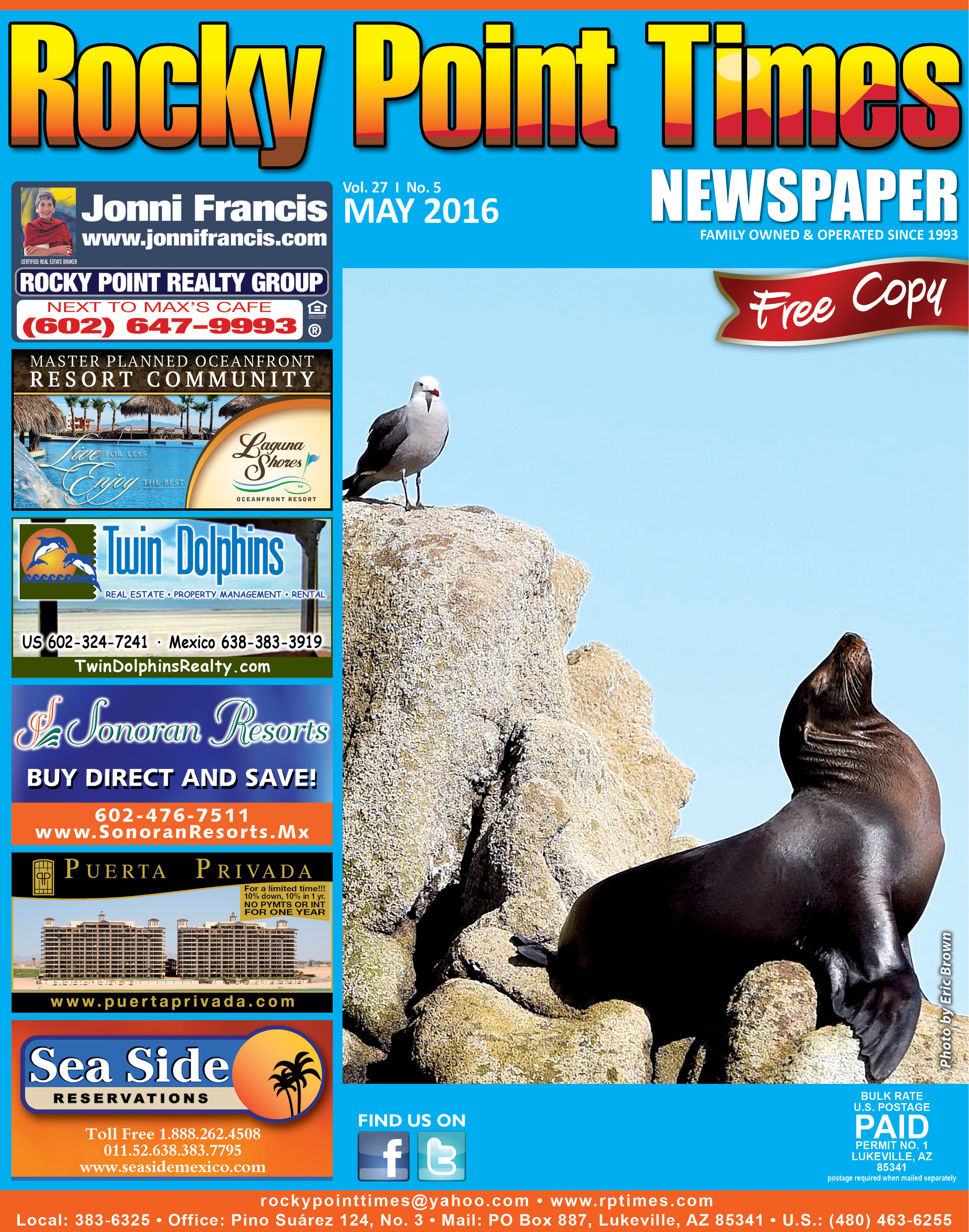 Editorial Rocky Point Times May 2016