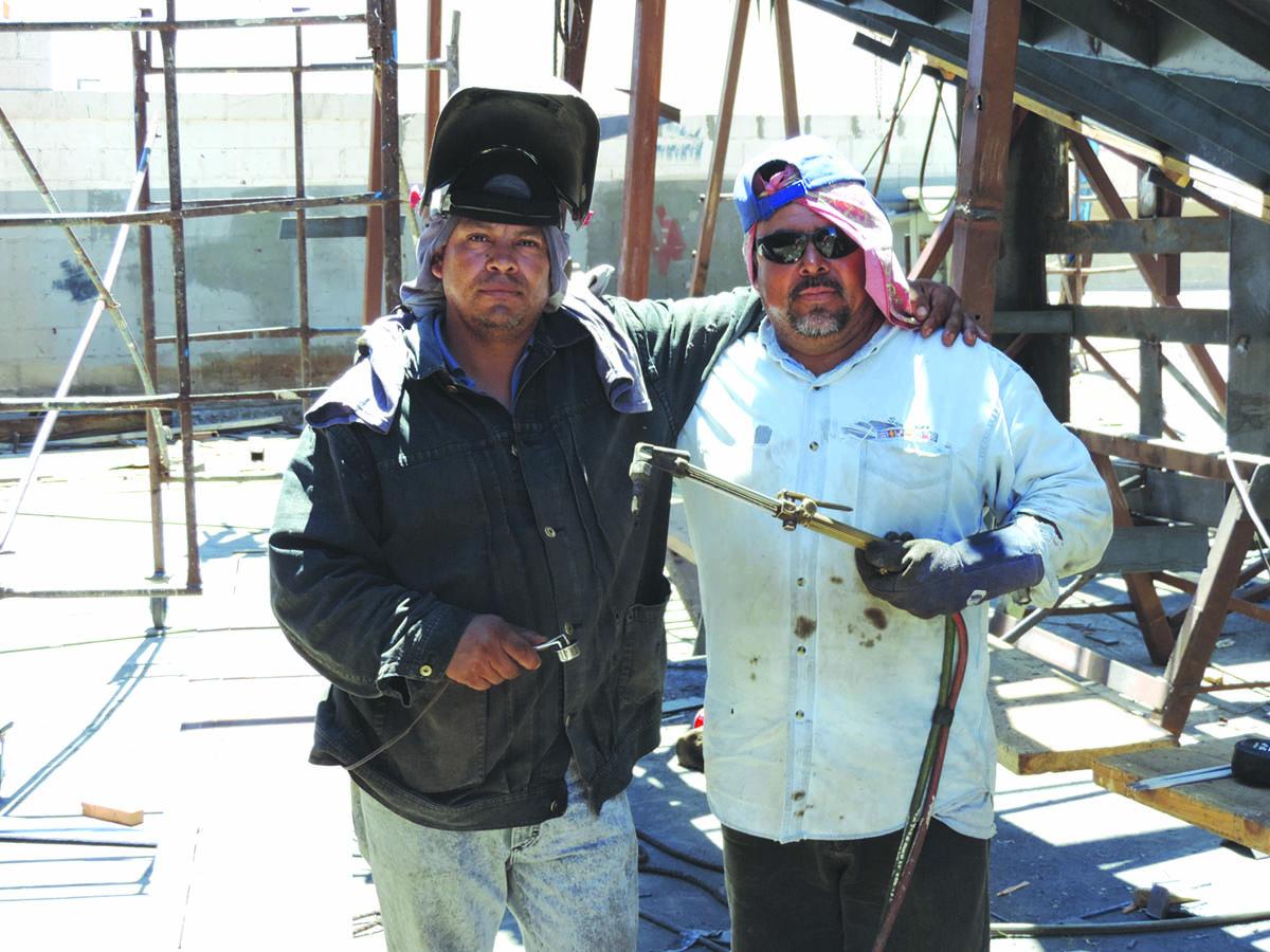 Working in the Shipyard