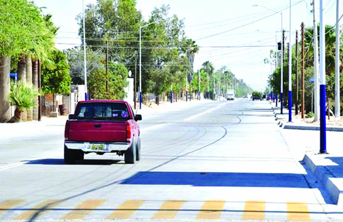 Paving of Peñasco Roads Continues