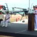 Mayor Kiko Munro Takes Part in Launch Ceremony of Aerial Surveillance Program of SEMAR and SEMARNAT