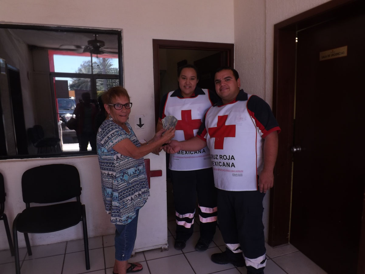CBSC donates $1,500 to Red Cross