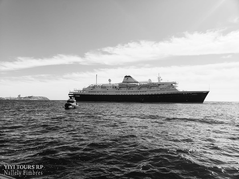 Cruise Ship Sets Sail Marking Historic Day for Puerto Peñasco