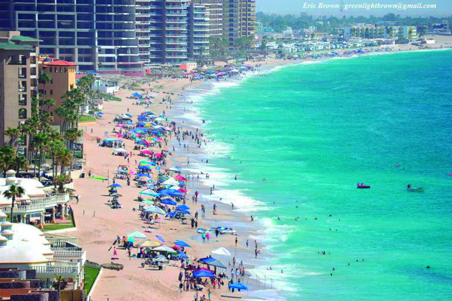 More Than 2.2 Million Foreign and National Tourists Visited the Beaches of Puerto Peñasco During 2019
