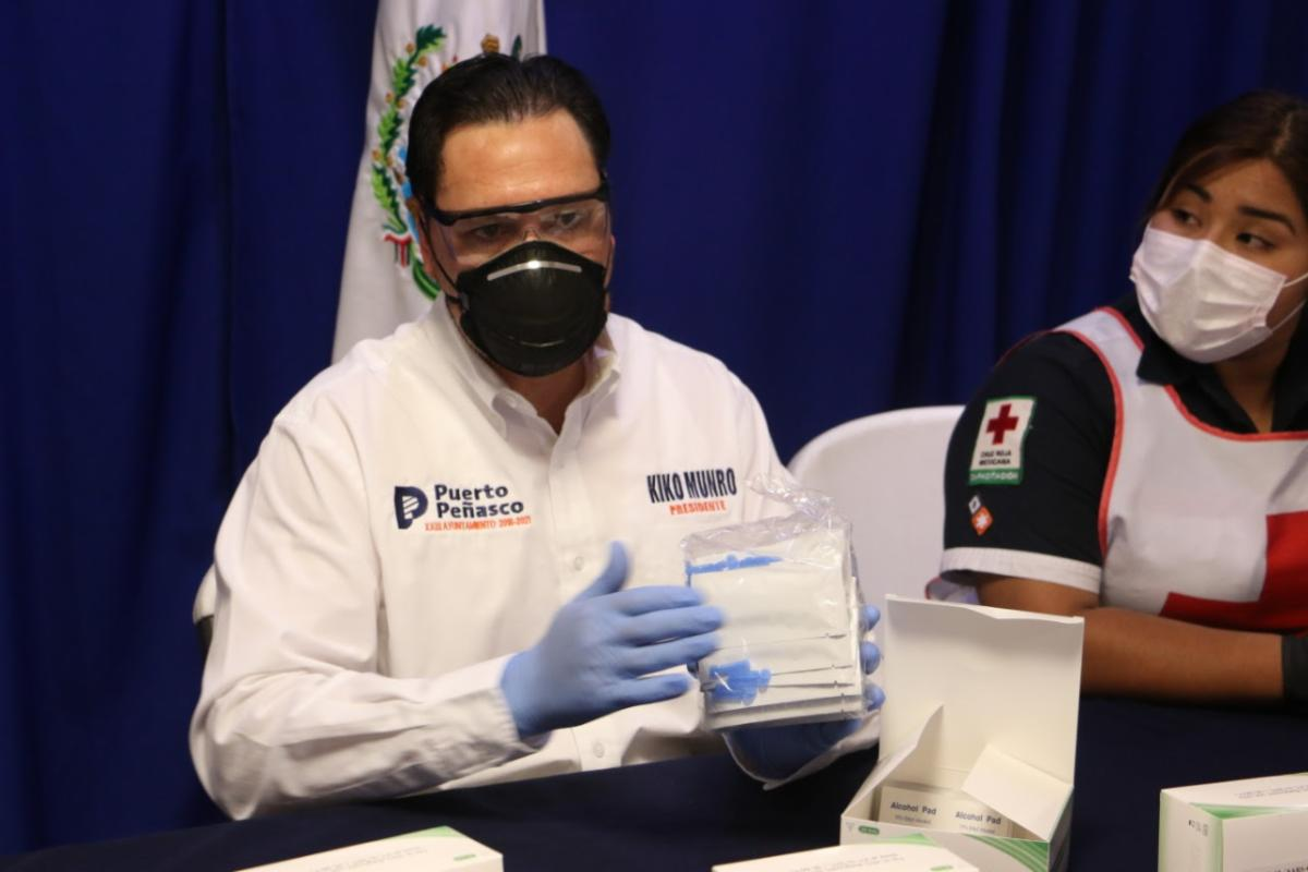 Mayor Kiko Munro Announces Delivery of First Rapid Tests for COVID-19