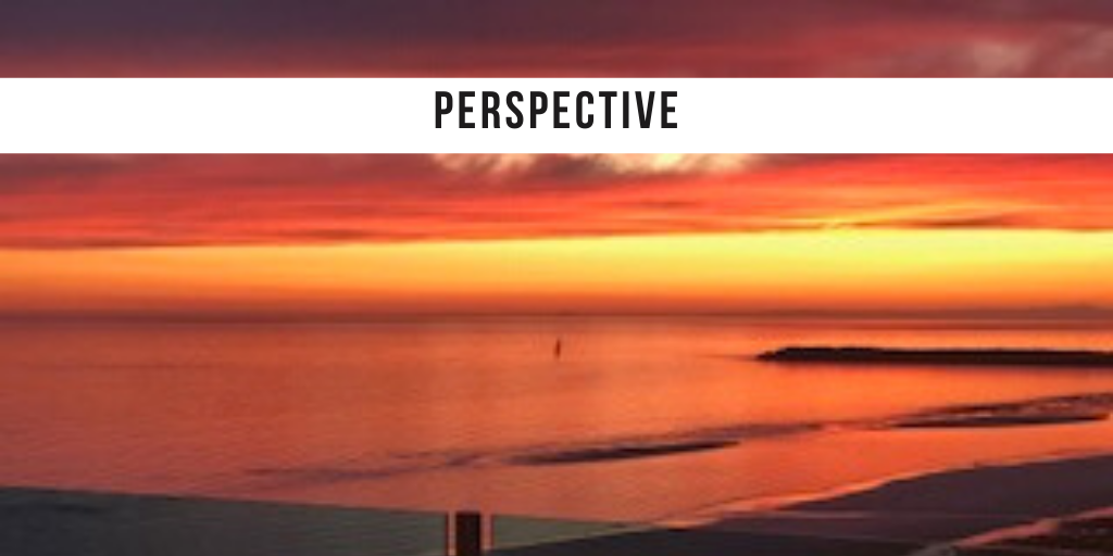 Perspective It is coming back.