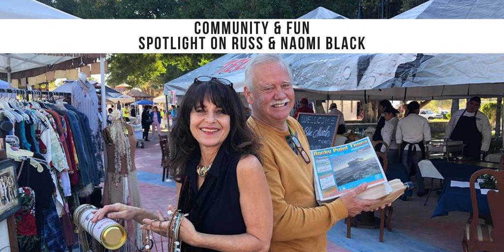 Spotlight on Russ & Naomi Black