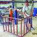 Decorative railing being fabricated for St. Joseph's Church in La Cholla