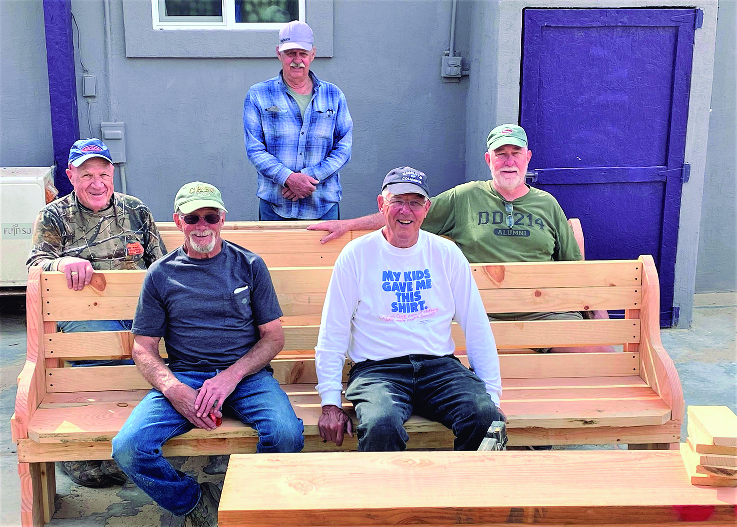 Visitors Grace St. Joseph's with New Doors and Pews