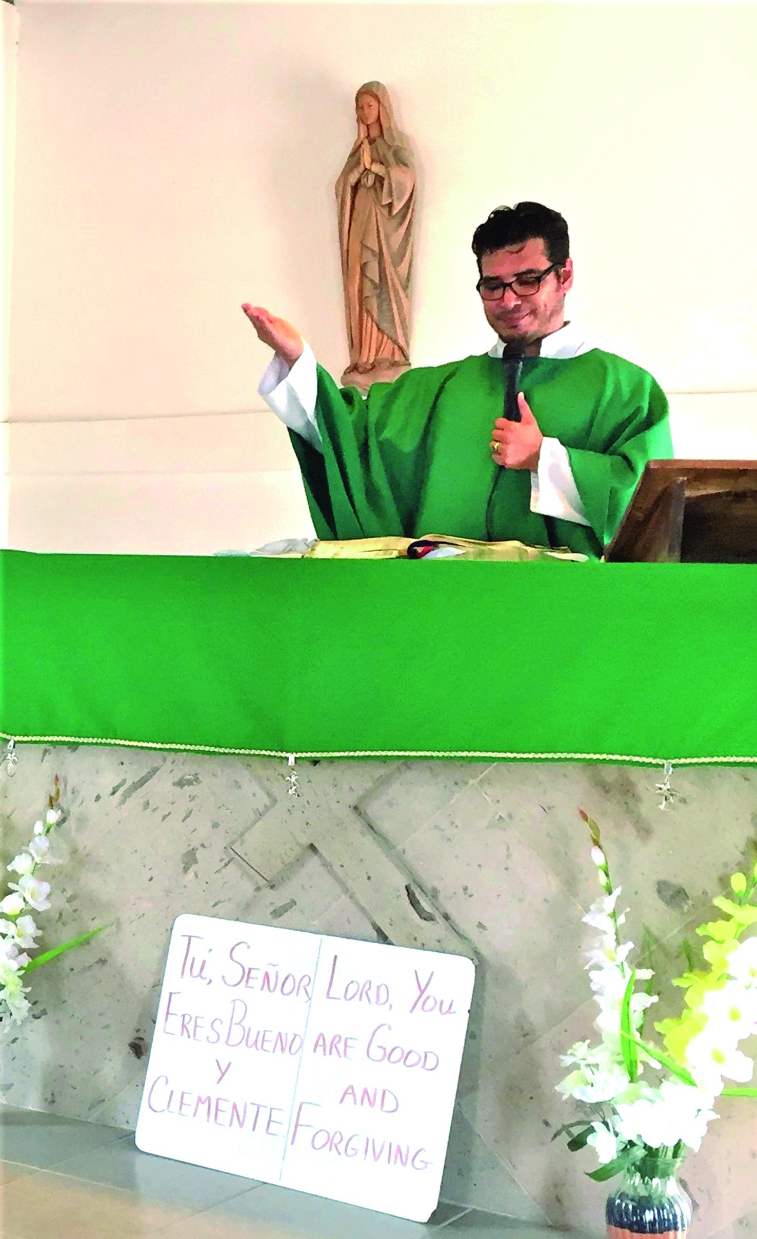 St. Joseph's new priest is an old friend
