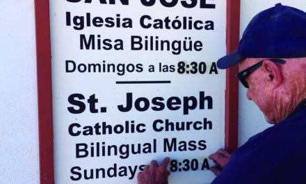 Mass at St. Joseph's changed to 8:30 a.m.
