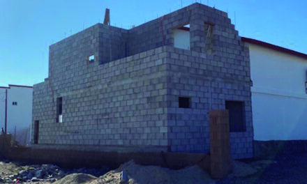 Rectory construction is moving quickly